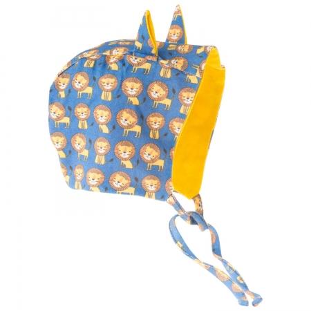 ★衛立兒生活館★英國 POCONIDO 造型耳朵嬰兒帽 (小獅王)