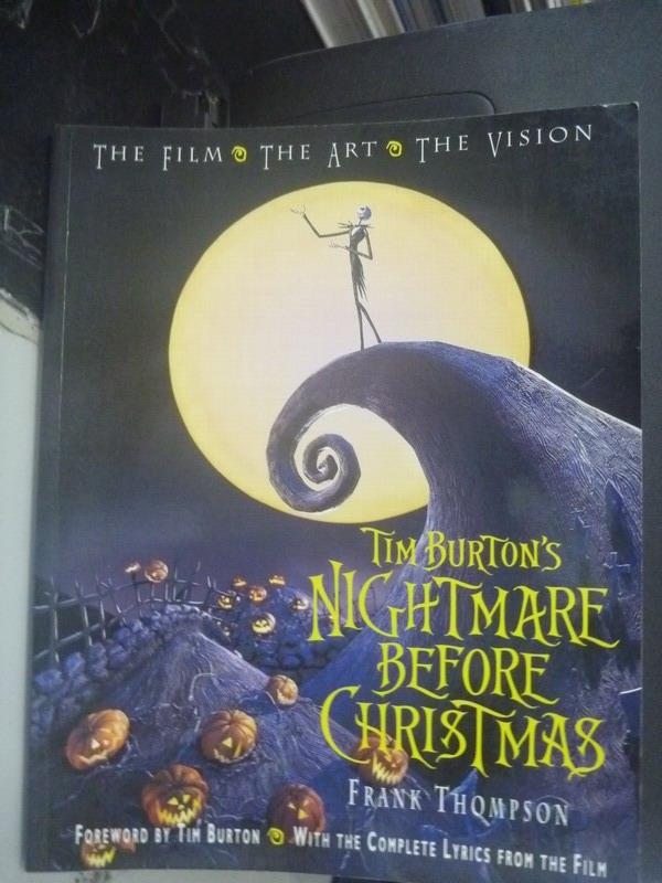 【書寶二手書T1/兒童文學_ZCY】Tim Burton's Nightmare before Christmas