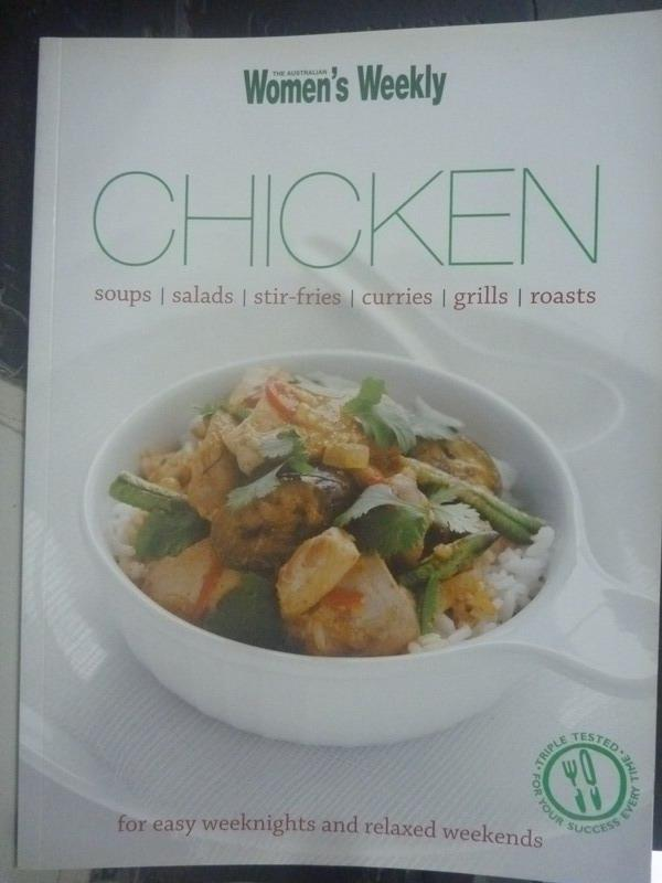 【書寶二手書T3/餐飲_ZIM】Chicken_The Australian Women's Weekly