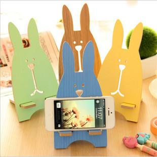 【瞎買天堂x超級可愛】可愛兔子手機座 手機支架 幫你的手機找個家吧 也可當充電座喔!【SGHRAA02】