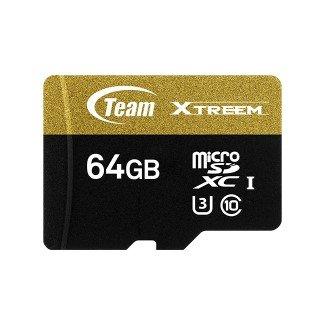 *╯新風尚潮流╭* TEAM十銓 64G 64GB Micro SDXC C10 U3小卡 TUSDX64GU303
