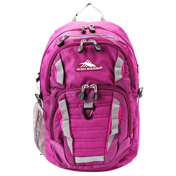 HIGH SIERRA美國戶外運動用品Ryler Backpack 可收納17吋筆電後背包新秀麗Samsonite副牌-深紫-H04-ZV059 【禾雅】