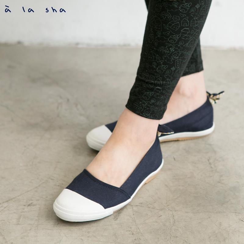 a la sha mucha 蝴蝶結造型娃娃鞋