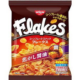 Nissin日清Flakes玉米脆片-焦香醬油(65g) | 日清シスコ フレークス 焦がし醤油