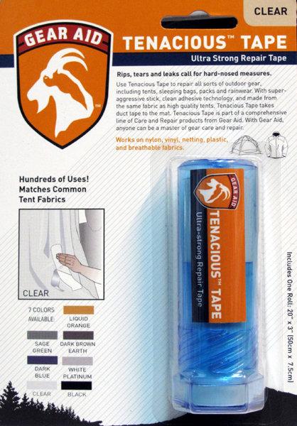 McNETT 修補片(2色) Sealing & Repair Tape (膠帶狀) 透明/ 暗藍色 / GEAR AID