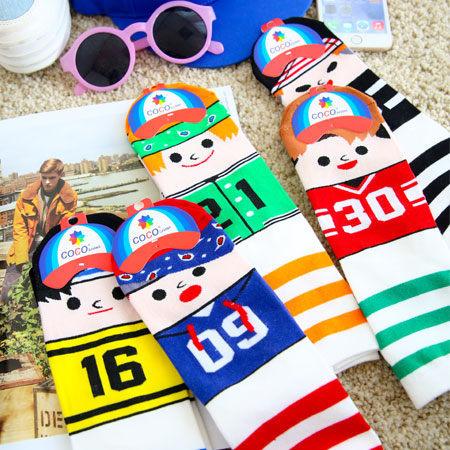 趣味小人運動風短襪 足球襪 短襪 襪子 造型襪 流行襪 學生襪 【B060846】