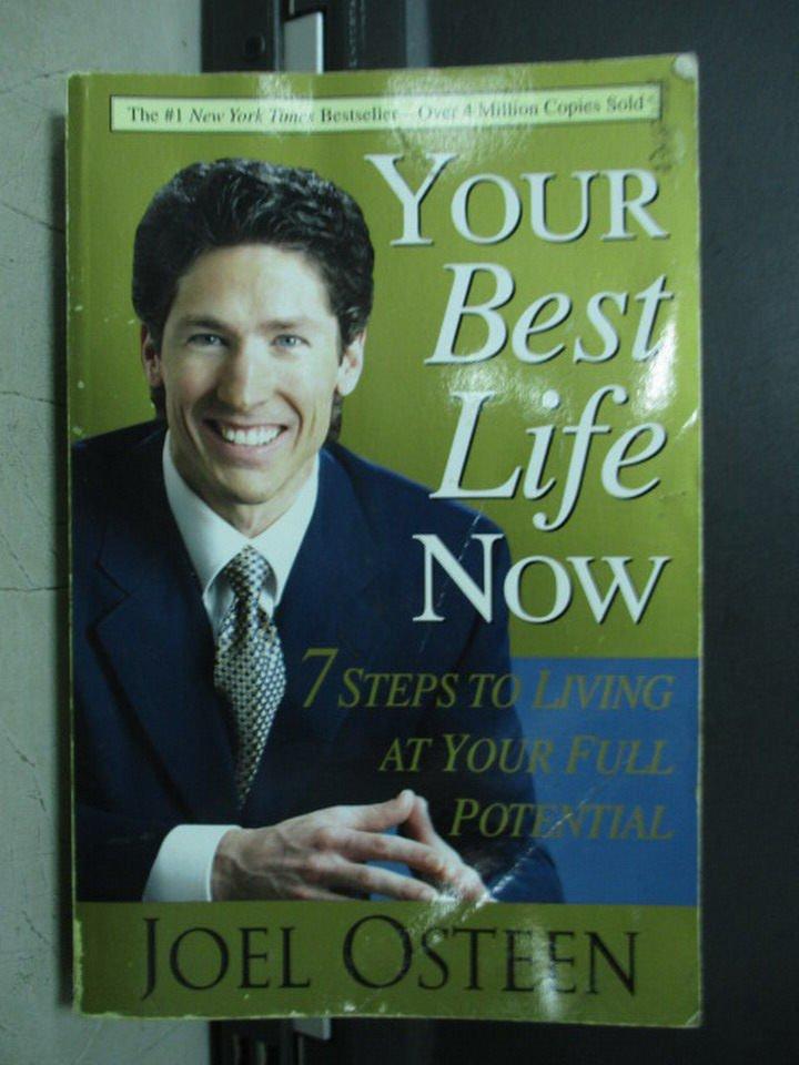 【書寶二手書T8/原文小說_LAQ】Your Best Life Now_2004