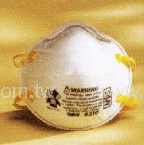 《3M》防塵/活性碳口罩Disposable Dust Respirator
