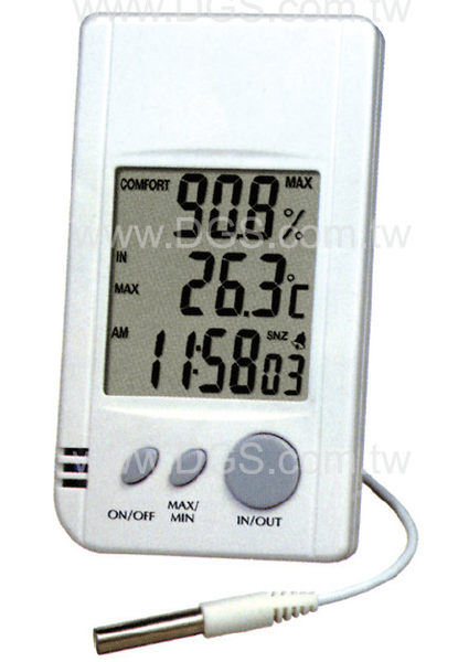 DGS  數字式最高最低溫濕度計 Hi/Lo Memory Thermo-Hygrometer