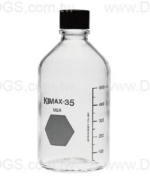 《KIMBLE & CHASE》血清 試藥瓶 橡膠墊片 Bottle, Media, Screw Cap, Rubber Lined