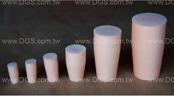 《Shin Etsu》透氣塞 內塞型 Stopper, for Test Tubes, Center Sponge, Silicone