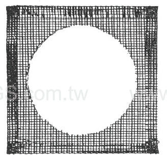 陶瓷纖維網 經濟型Ceramics Centered Iron wire Gauze