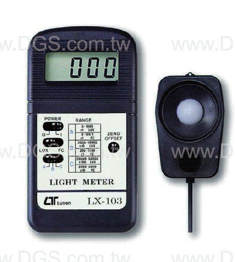 光度計 雙單位式Illuminance Meters