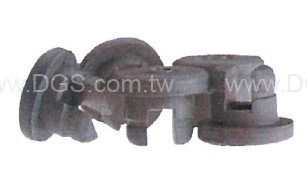 《台製 》血清塞 凍乾用 Stopper For Aluminum Seal Finish, Gray Butyl Rubber