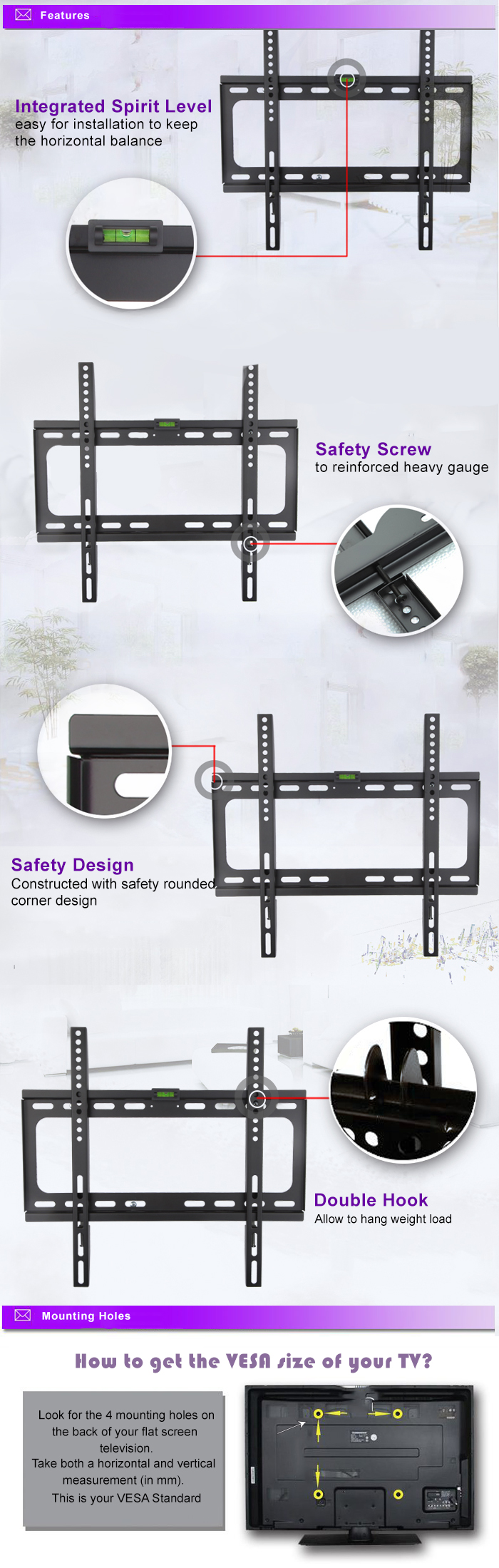 Best Buy Flat Screen Tv Wall Mount Mounting Brackets For