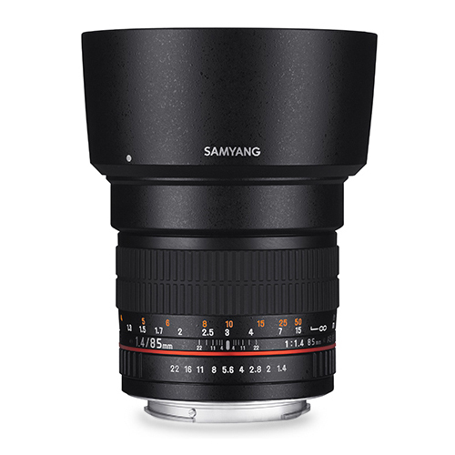 ◎相機專家◎ SAMYANG 85mm F1.4 AE for Canon EF 手動鏡 正成公司貨