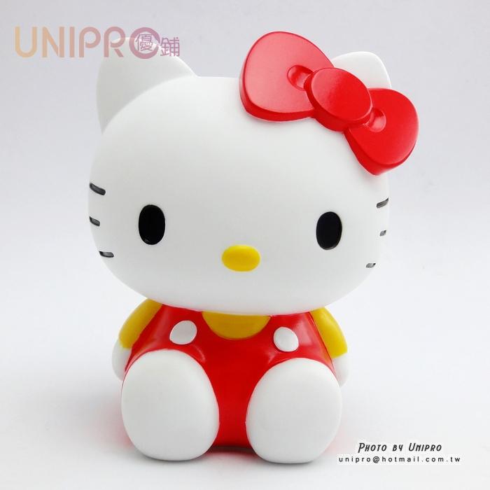 【UNIPRO】Hello Kitty 凱蒂貓 經典造型全身存錢筒 15公分高 三麗鷗正版 KT
