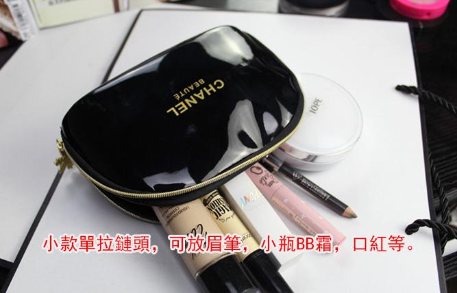 凡事購買3000以上、200可以購買一個CHANEL化妝包。滿5000免費送一個