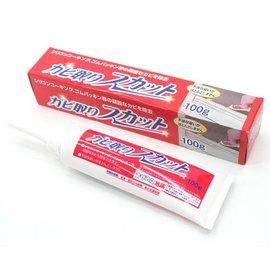 大掃除清潔必備-日本原裝進口除霉高手-矽立清除霉凝膠-清除霉斑專用清潔劑 100g