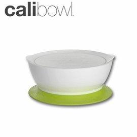 兒童餐具-Baby Joy World-【美國 Calibowl】專利防漏防滑幼兒學習吸盤碗 12oz 附碗蓋 單入裝-綠色