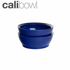 兒童餐具-Baby Joy World-【美國 Calibowl】專利防漏防滑幼兒學習吸盤碗 12oz 2入裝-深藍色