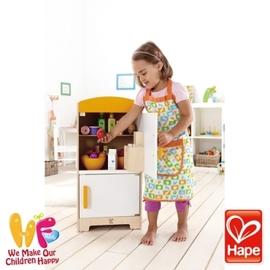 Baby Joy World-德國Hape educo愛傑卡【角色扮演廚房系列】- 酷炫冰箱