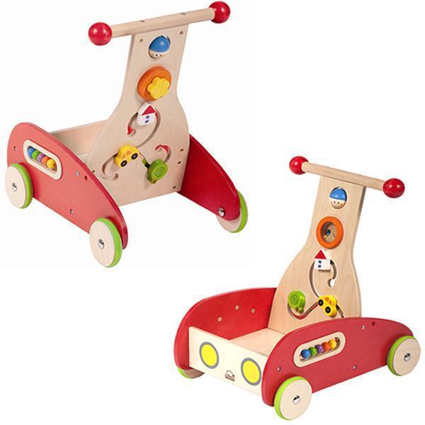 學步車-Baby Joy World-德國Hape educo愛傑卡多功能學步車