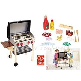 Baby Joy World-德國Hape educo愛傑卡【角色扮演廚房系列】-我的燒烤台 + BBQ食材組《超經濟BBQ組合》