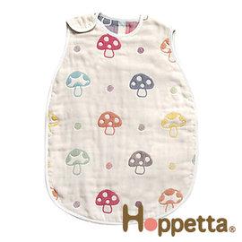 防踢被-Baby Joy World-日本Hoppetta六層紗蘑菇防踢背心(2~7歲幼童)#724015 【日本Hoppetta最熱銷彩色蘑菇防踢被】