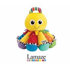 嬰幼兒玩具-Baby Joy World-【美國Lamaze拉梅茲】粉紅音感八爪章魚(LC27724)