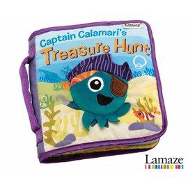 嬰幼兒玩具-Baby Joy World-美國Lamaze拉梅茲烏賊船長的寶藏探險布書LC27902