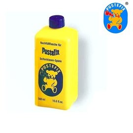 【德國Pustefix】神奇魔力泡泡水大型補充液 500ml (單瓶)
