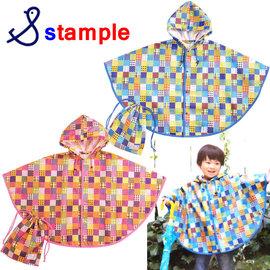 【日本 Stample】雨衣 斗篷版 (雨衣斗篷) 附收納袋 2014新款-M號