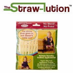 Baby Joy World-美國Strawlution神奇防拔吸管【100%美國製造、不含雙酚A】-黃色
