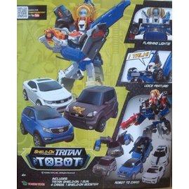 【韓國機器戰士TOBOT】XYZ 超級合體機器戰士 (YT01007)