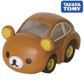 日本TAKARA TOMY 阿Q迴力車MIX QM01 拉拉熊(CQ81763)