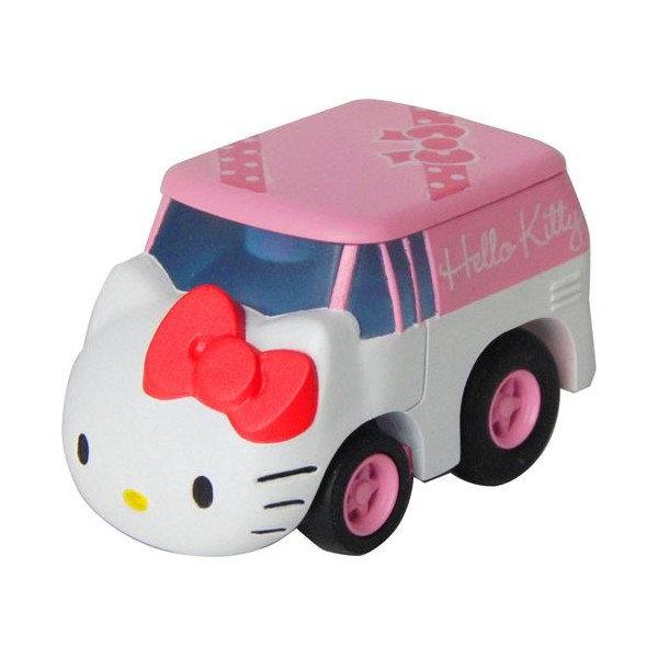 日本TAKARA TOMY 阿Q迴力車MIX QM02 KITTY(CQ81764)