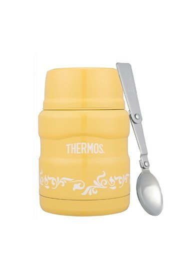 【美國Thermos膳魔師】不銹鋼真空保溫食物罐(燜燒罐) SK3000 470ml 副食品