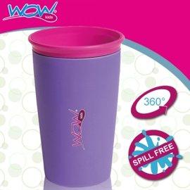 Baby Joy World-【美國Wow Cup】 360度神奇喝水杯-紫色