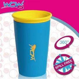 Baby Joy World-【美國Wow Cup】 360度神奇喝水杯-藍色