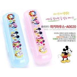兒童餐具收納盒-Baby Joy World-韓國Disney 硬殼餐具收納盒 學習筷湯叉專用收納盒(韓國製)