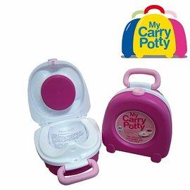 便器便盆-Baby Joy World-英國My Carry Potty】我的凱瑞小馬桶(可攜帶式)-粉紅色, 藍色,黃色