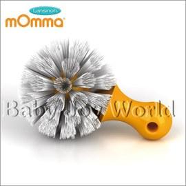 水杯奶瓶清潔刷-Baby Joy World-【義大利 mOmma 專用水杯奶瓶清潔刷 】-橘色