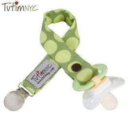 奶嘴鍊-Baby Joy World-美國TutimNYC 手工奶嘴鏈-綠色太陽