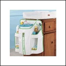 嬰兒用品尿布收納袋-Baby Joy World-美國 Munchkin 寶寶尿布收納袋置物袋 嬰兒用品收納袋 嬰兒床收納袋