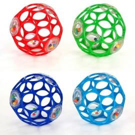兒童玩具-Baby Joy World-美國 Kids II O ball 4吋沙沙洞動球 #81031 / 響鈴版魔力洞動球