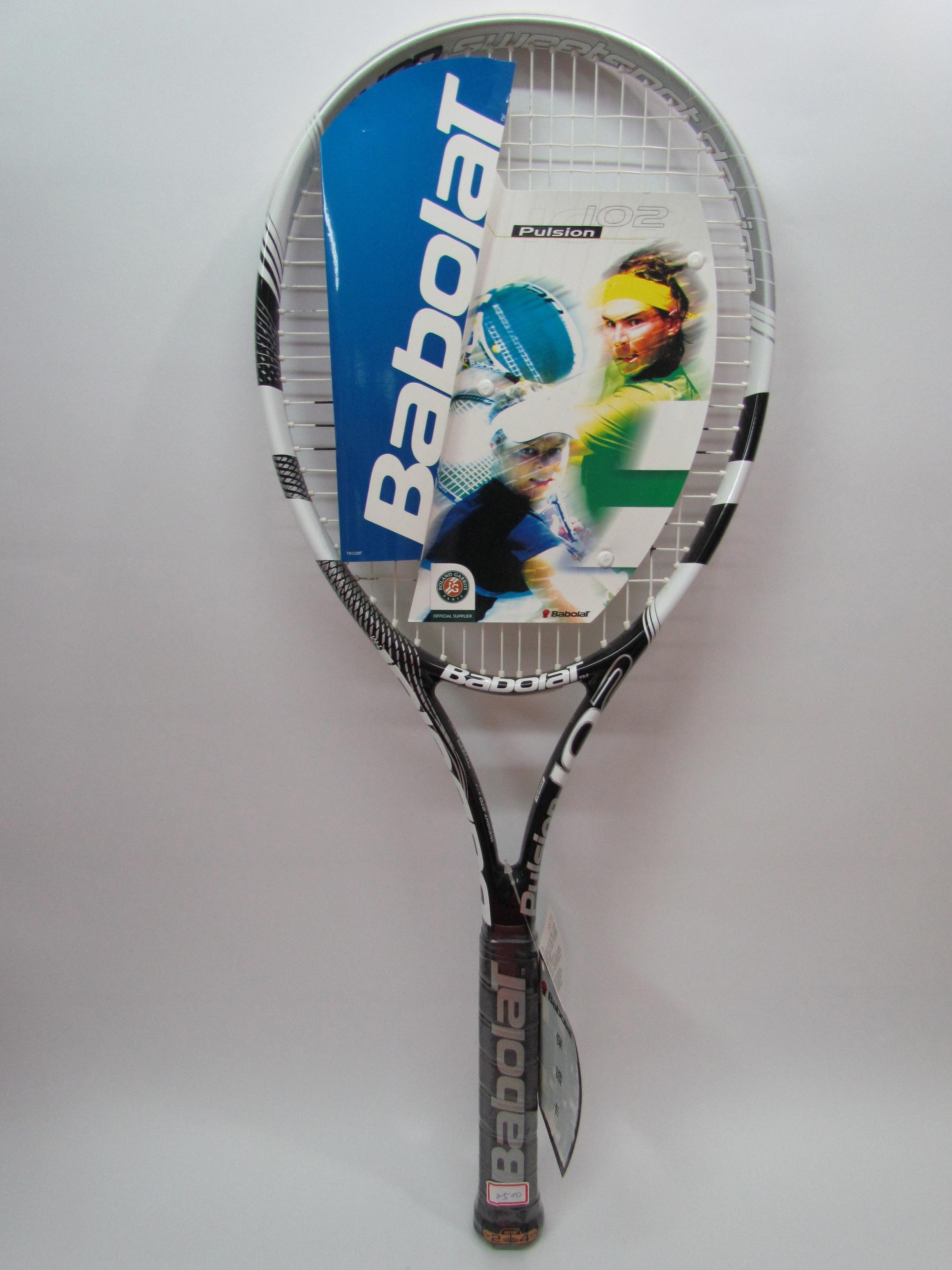 Babolat專業網球拍 Pulsion 102
