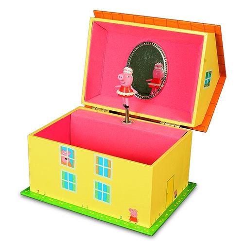 【粉紅豬小妹】音樂珠寶盒 PE02481
