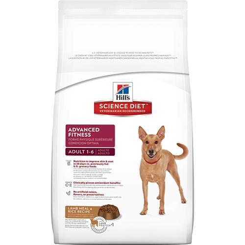Hill's 希爾思 成犬 優質健康 羊肉與米配方 3KG/3公斤