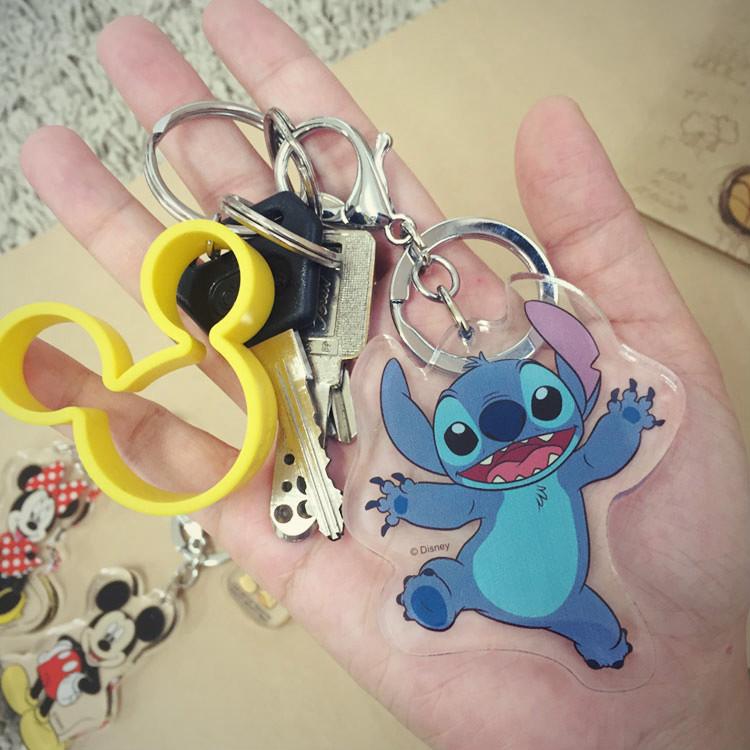 PGS7 (現貨+預購) 迪士尼系列商品 - 迪士尼 壓克力 吊飾 鑰匙圈 (小) 小吊飾 奇奇 史迪奇 米奇 米妮